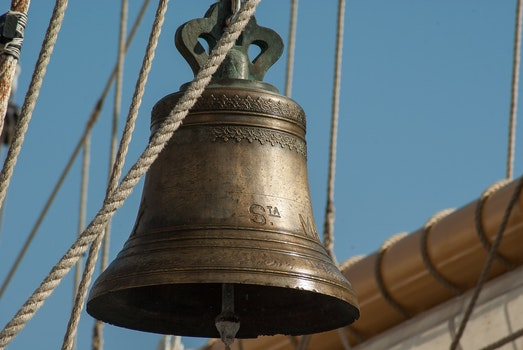 Free stock photo of vintage, rope, travel, bell