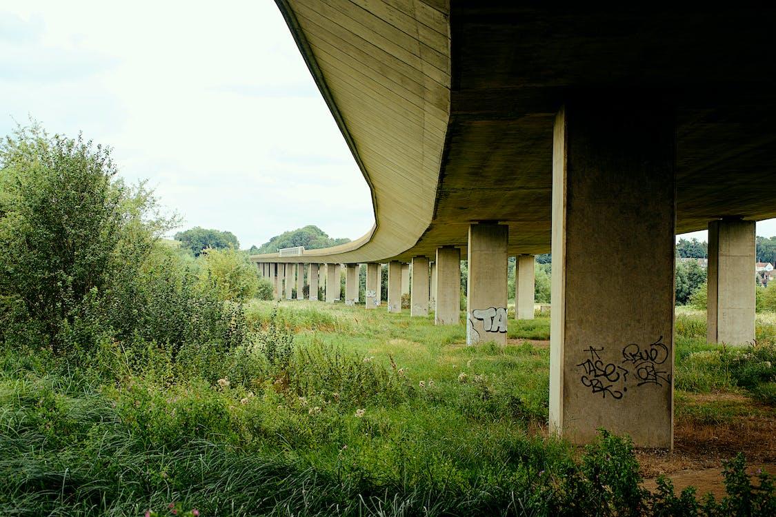 brug, graffiti, graffitikunst
