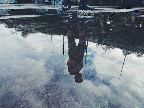 Foto stok gratis bayangan, pemantulan, refleksi