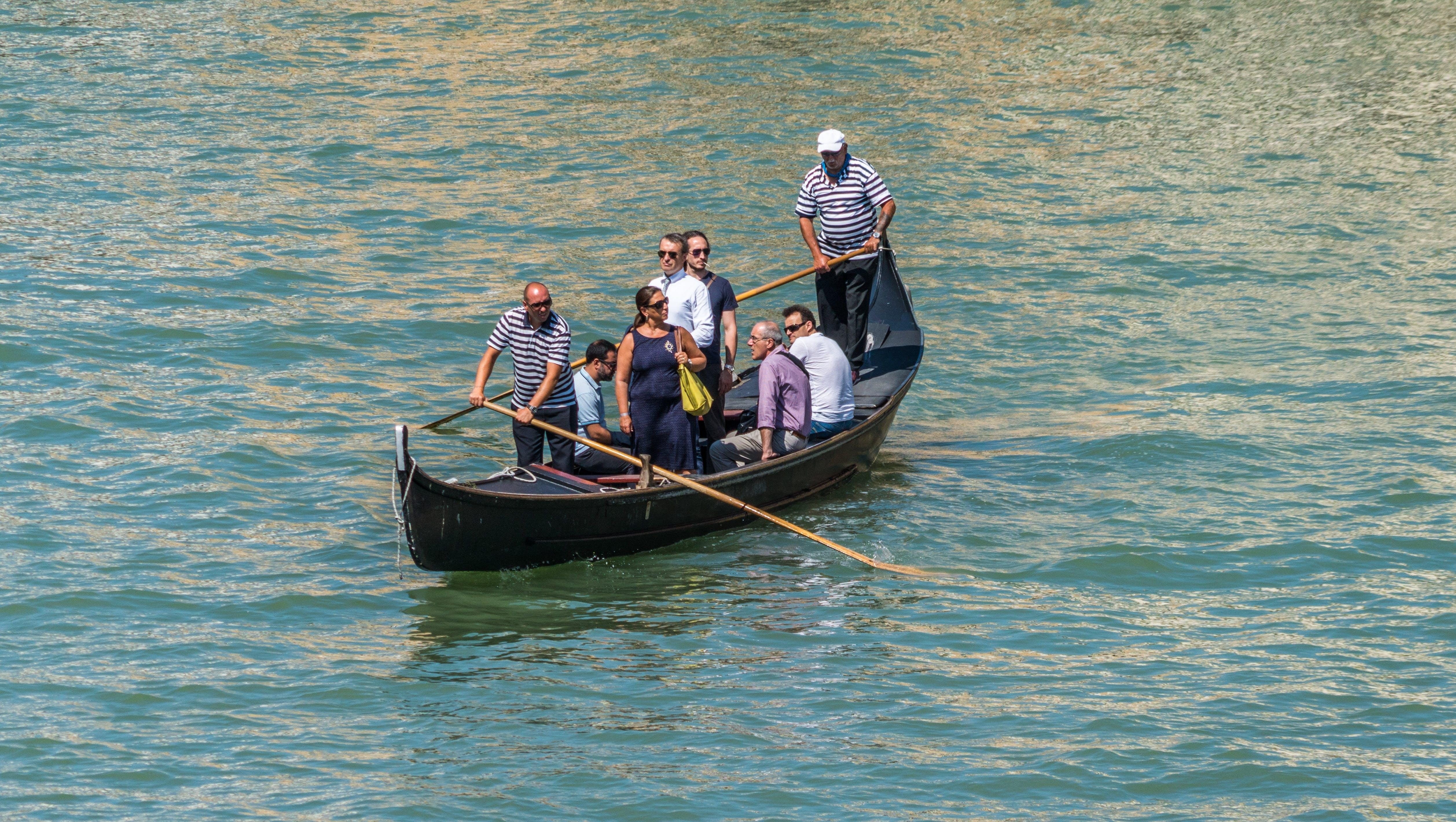 Free stock photo of boat, canal, europe, gondola