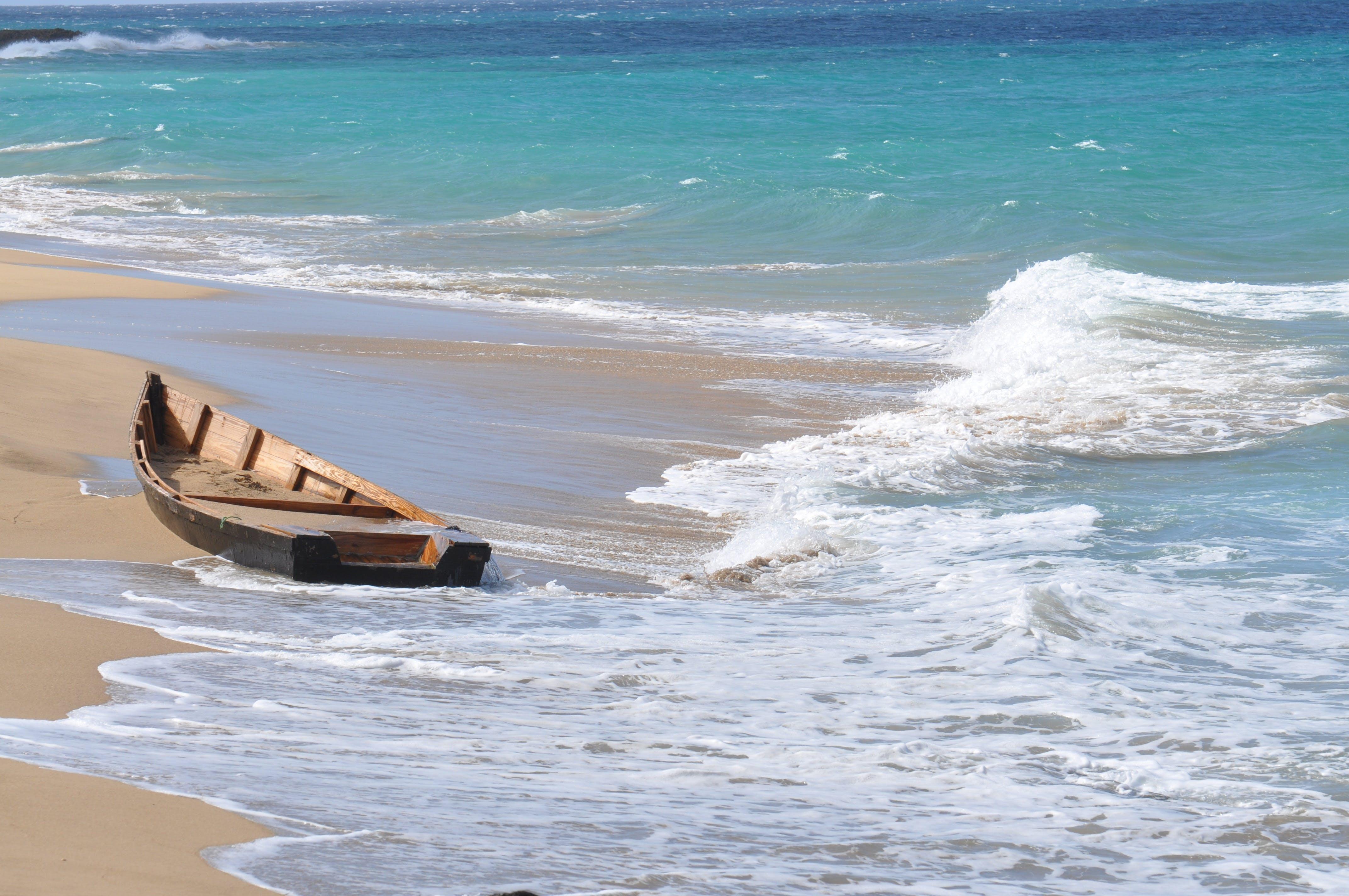 Free stock photo of beach, boat, Puerto Rico, sand