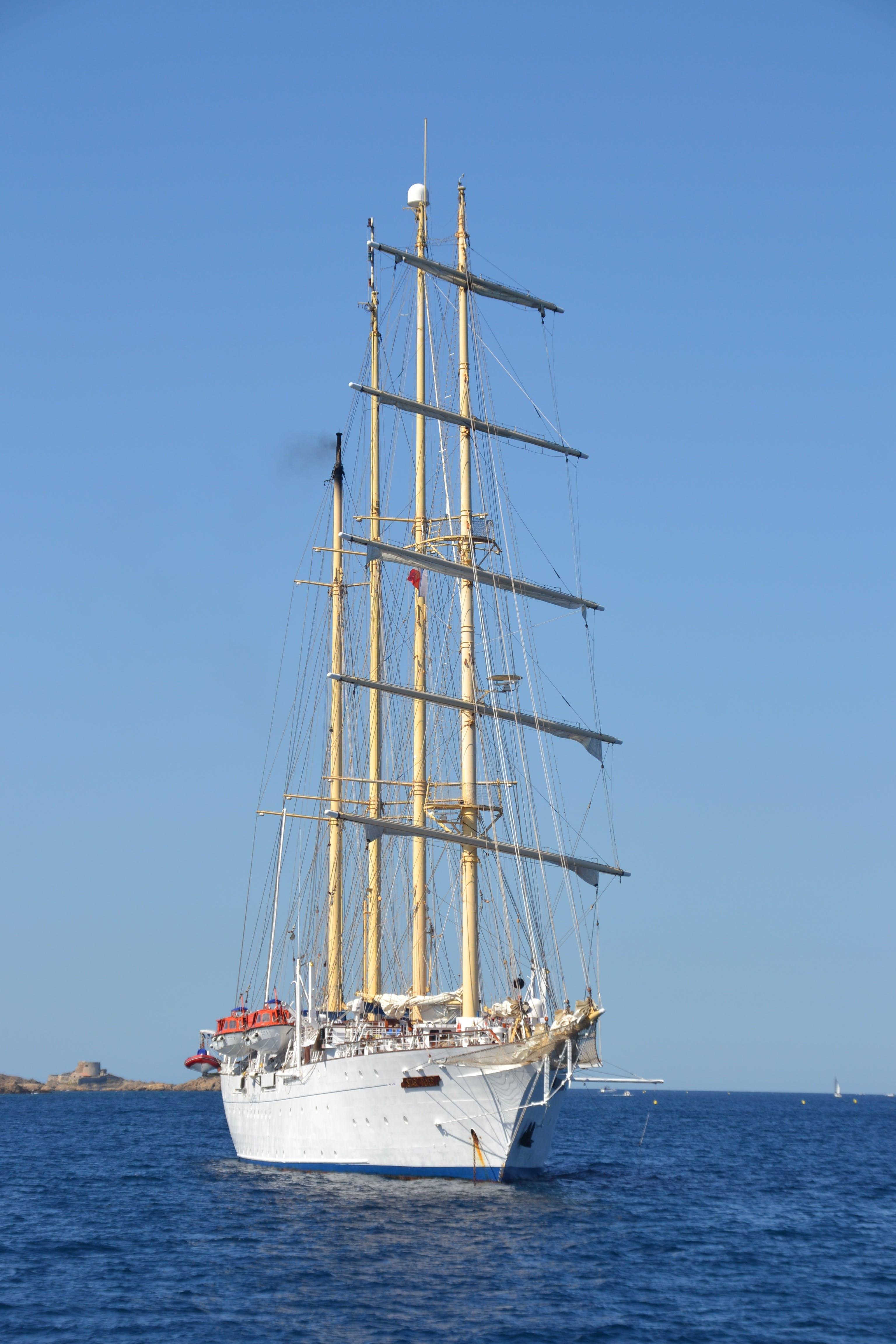 Free stock photo of sea, summer, boat, sailing