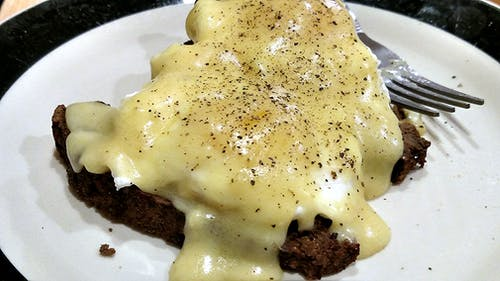 Free stock photo of eggs benedict, food, hollandaise