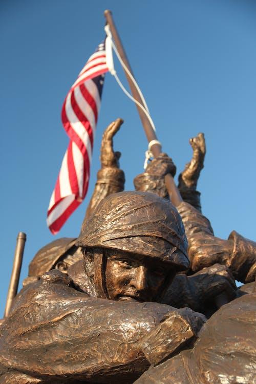 Ilmainen kuvapankkikuva tunnisteilla amerikan lippu, arkkitehtuuri, hahmo, historiallinen