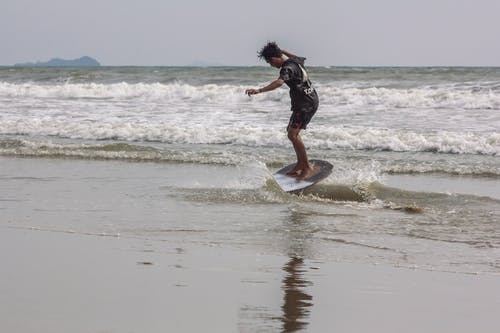 Photos gratuites de amusement, plage, surf