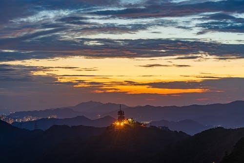Kostnadsfri bild av solnedgång