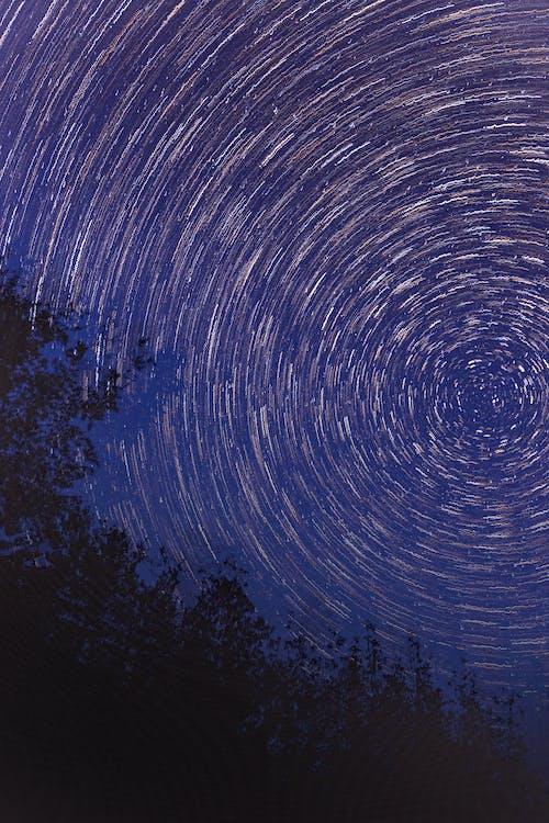 Fotobanka sbezplatnými fotkami na tému celebrity, dlhá expozícia, hviezdna obloha, noc