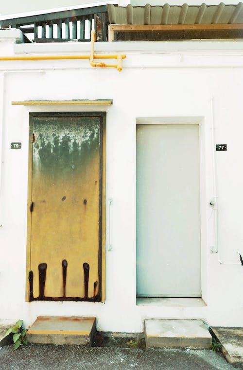 Darmowe zdjęcie z galerii z brudny, czysty, drzwi, estetyka