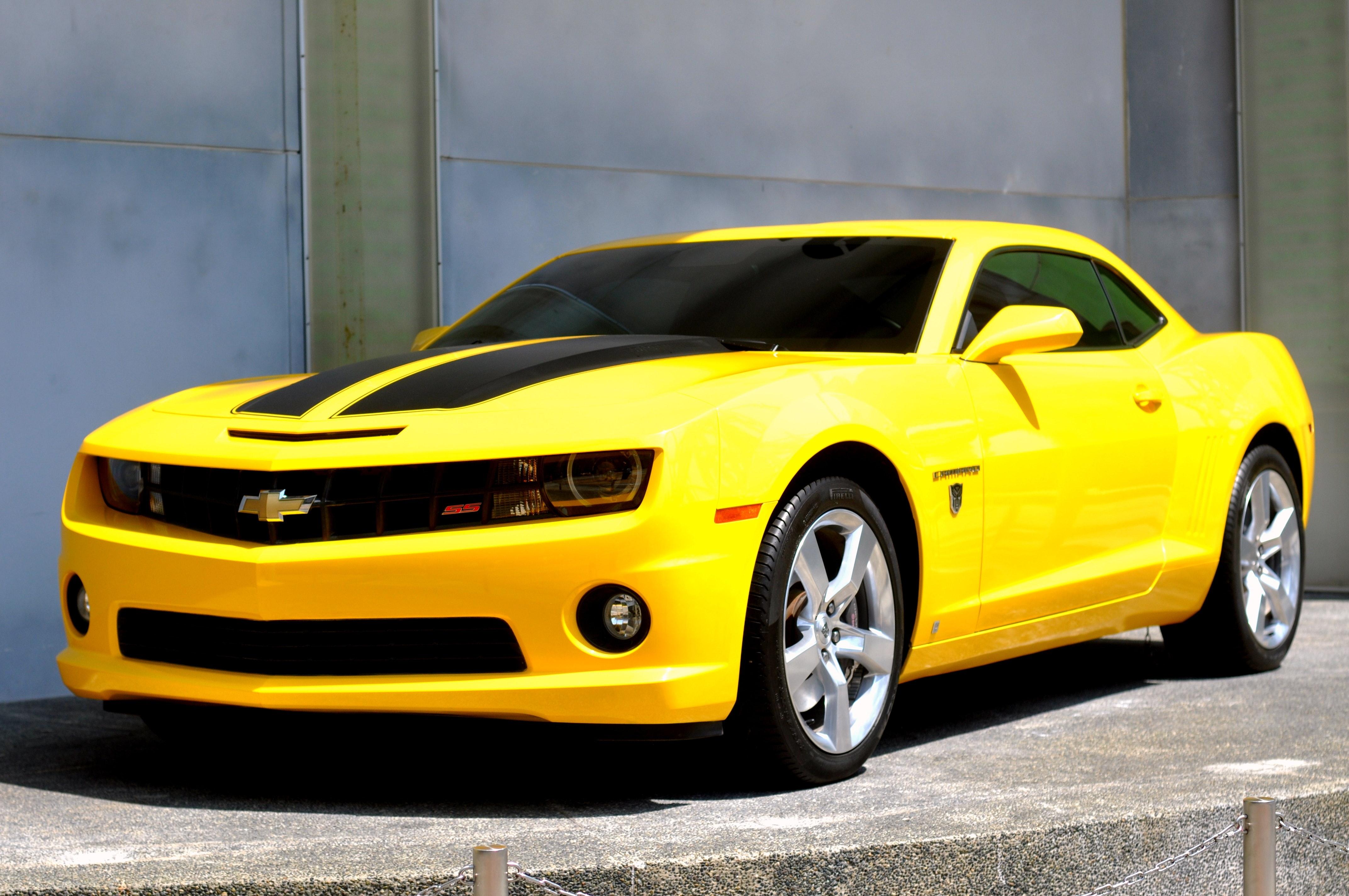 Free stock photo of bumblebee camaro chevorlet - Transformers bumblebee car wallpaper ...