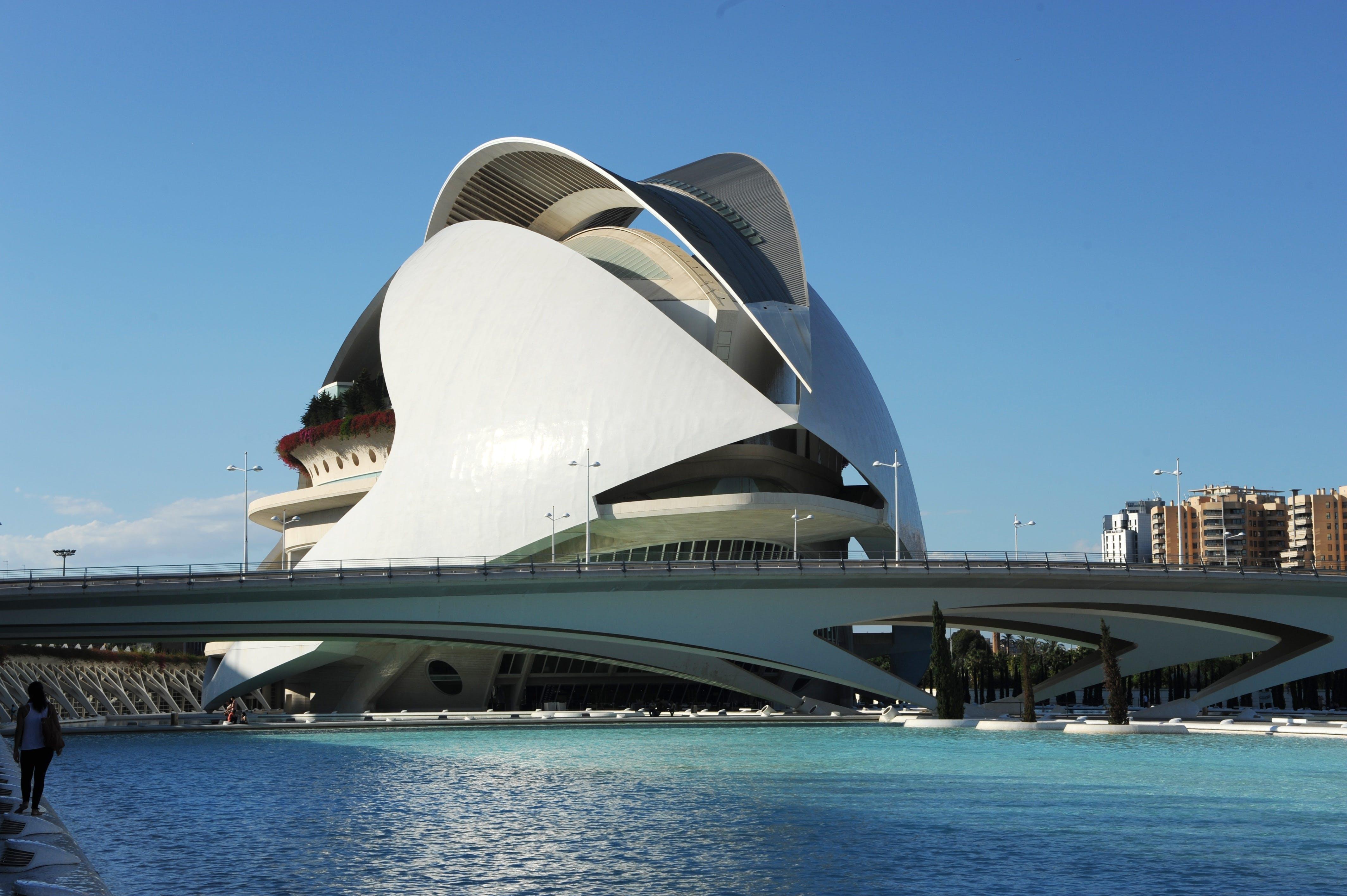 Free stock photo of architecture, art, beautiful, blue sky