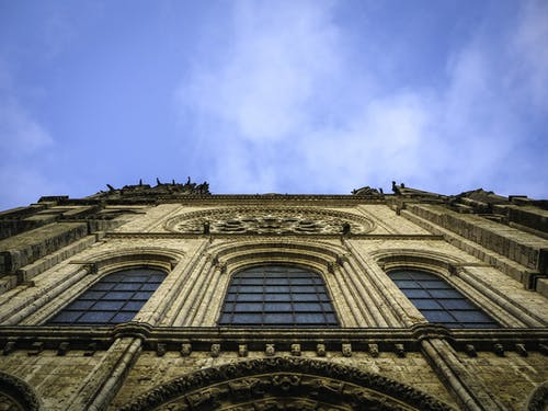 Free stock photo of above, architecture, below, cathedral