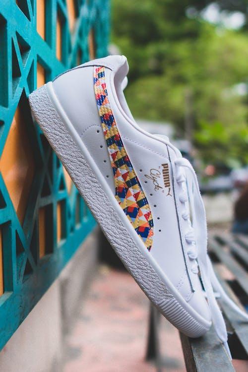 Close-Up Photo of Puma Shoes