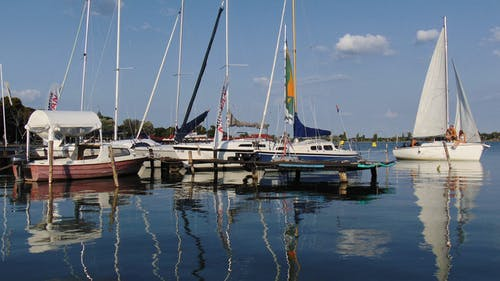 Gratis arkivbilde med båt, båtdekk, brygger, bukt