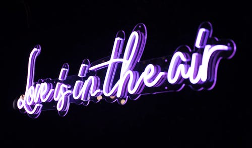Love Is in the Air Neon Light
