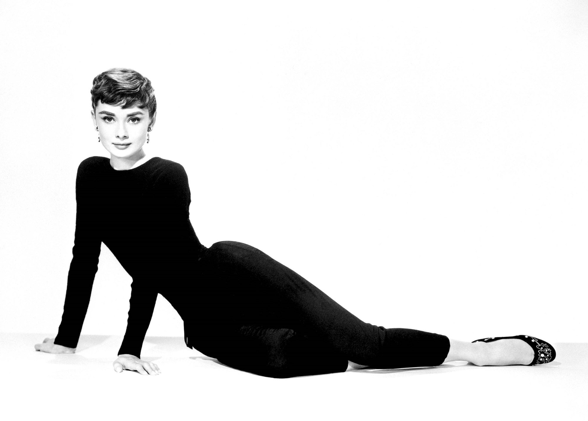 Free Stock Photo Of Actress Audrey Hepburn Black And White