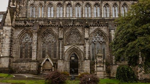 Foto profissional grátis de abadia, ancião, arcada, arcadas