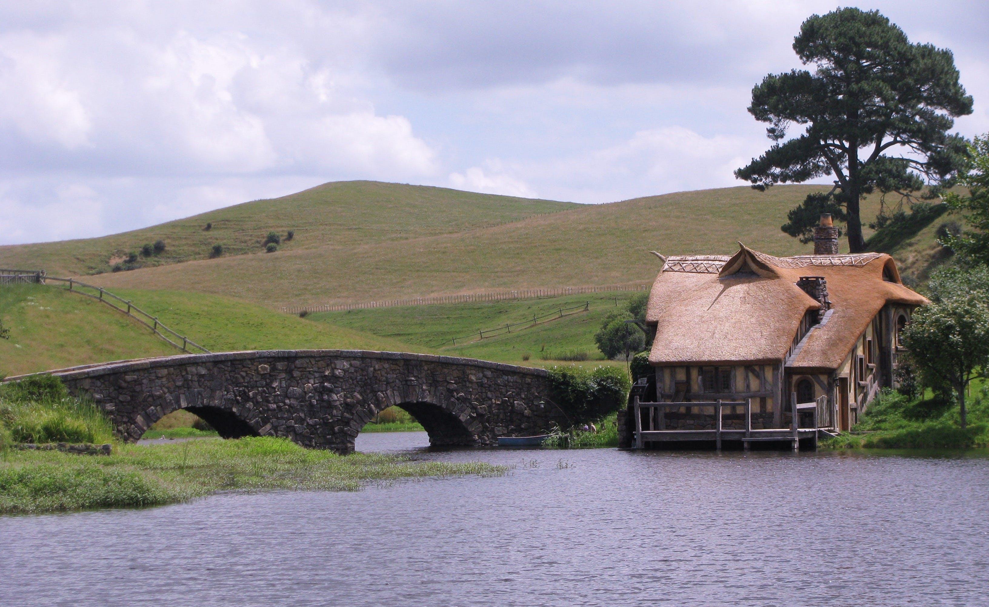 Free stock photo of bridge, rings, tourism, movie