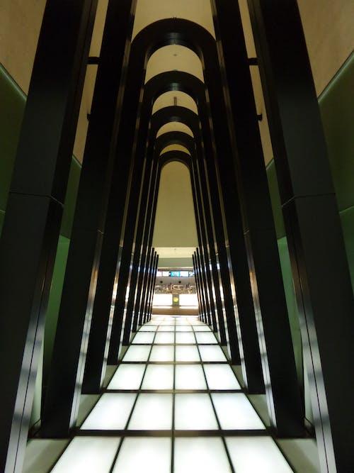 Foto stok gratis Arsitektur, bagian, bagian dalam, Bandara