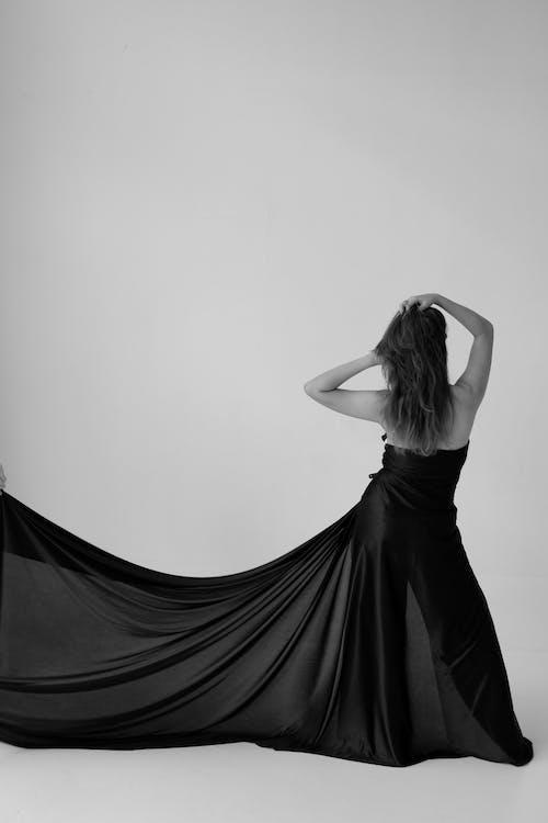 Imagine de stoc gratuită din alb-negru, femeie, model, om