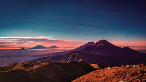 คลังภาพถ่ายฟรี ของ การปีนเขา, ตะวันลับฟ้า, ผู้คน, พระอาทิตย์ขึ้น