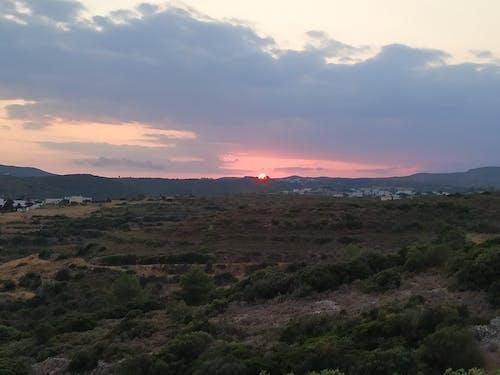 Free stock photo of sun, sunset