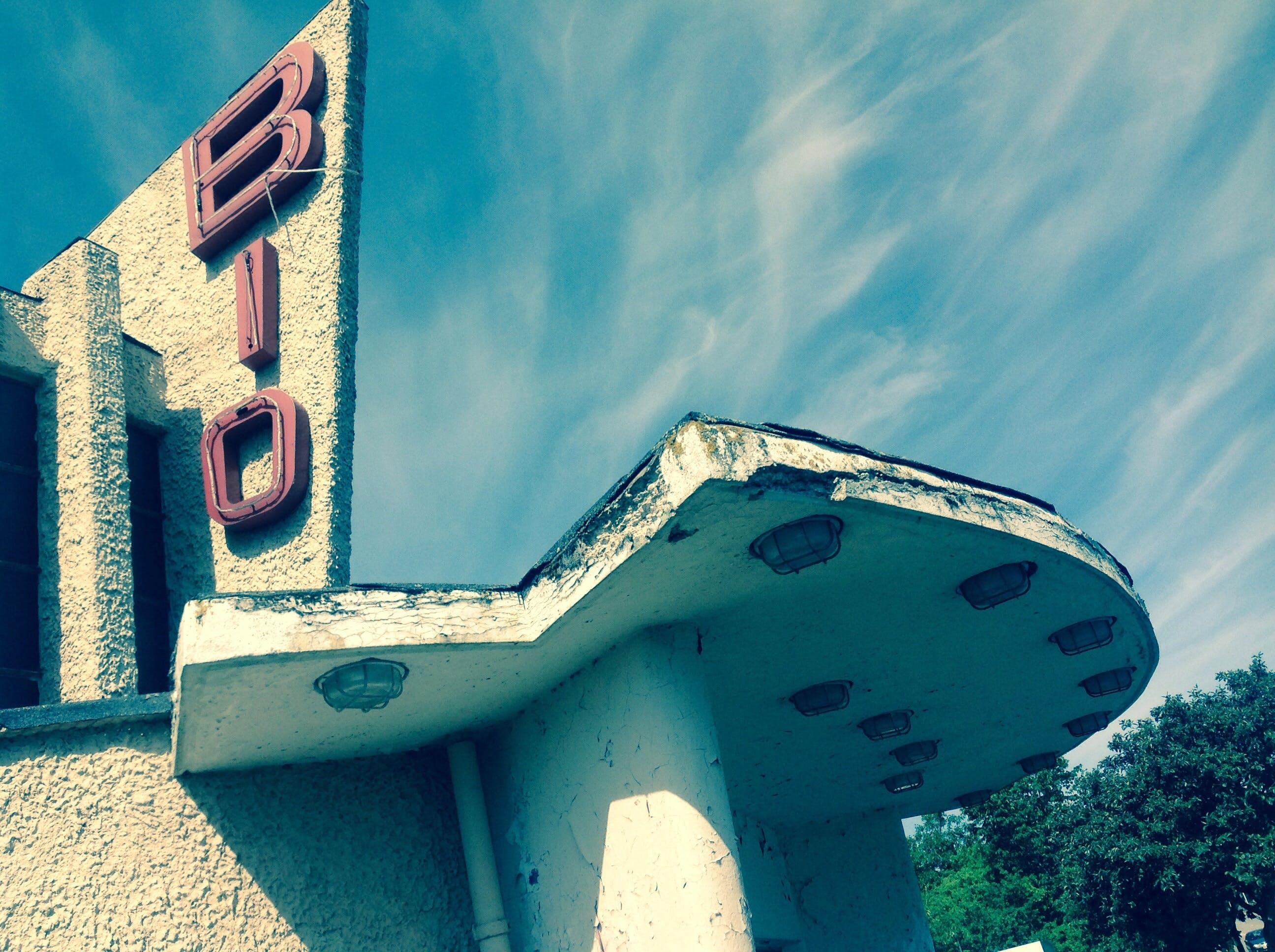 Free stock photo of abandoned, architecture, building, cinema