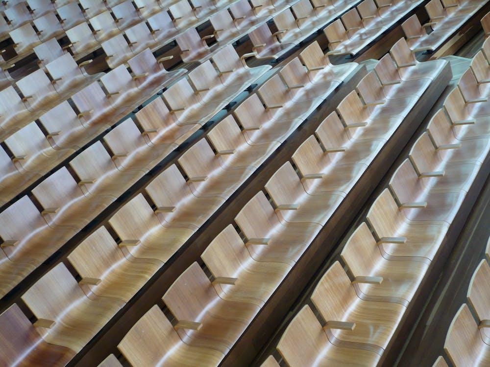 архитектура, аудитория, в помещении