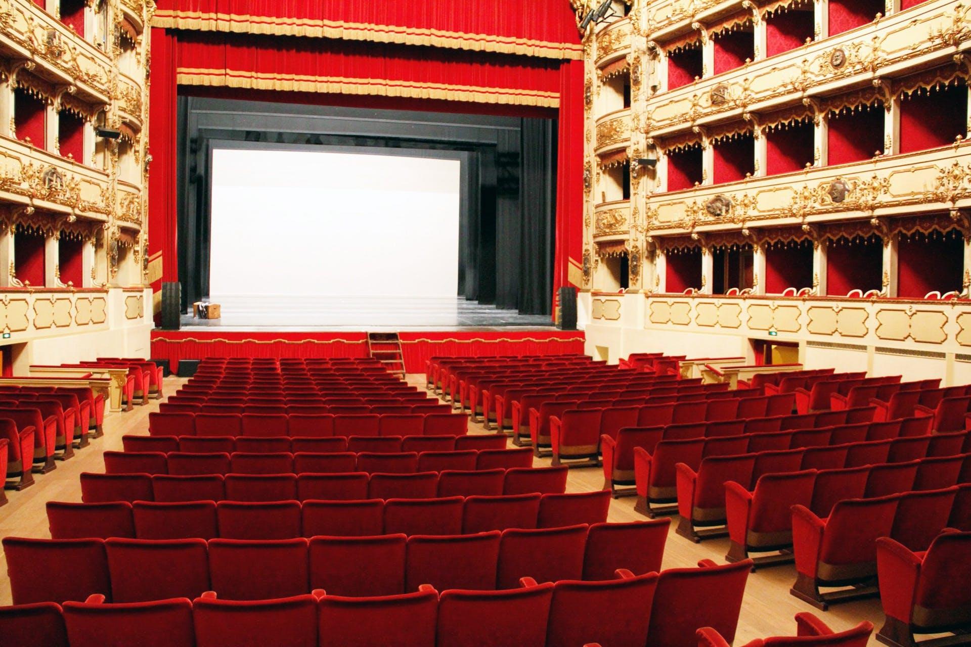 Free stock photo of armchairs, cinema, interior design, milan