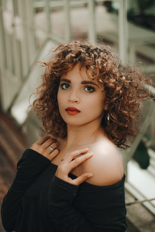 Photo of Woman With Curly Hair
