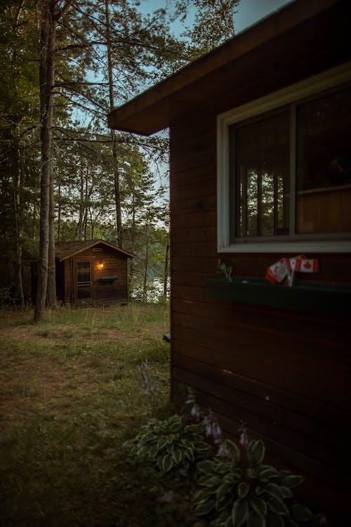 Δωρεάν στοκ φωτογραφιών με εξοχικό σπίτι, καμπάνα, καμπίνα, Καναδάς
