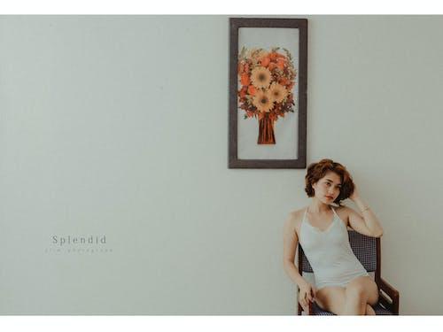 亞洲, 亞洲女孩, 創意攝影, 可愛 的 免費圖庫相片
