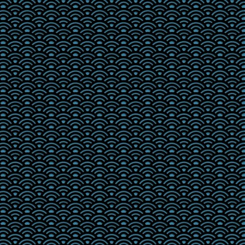 Free stock photo of arcs, blue, pattern
