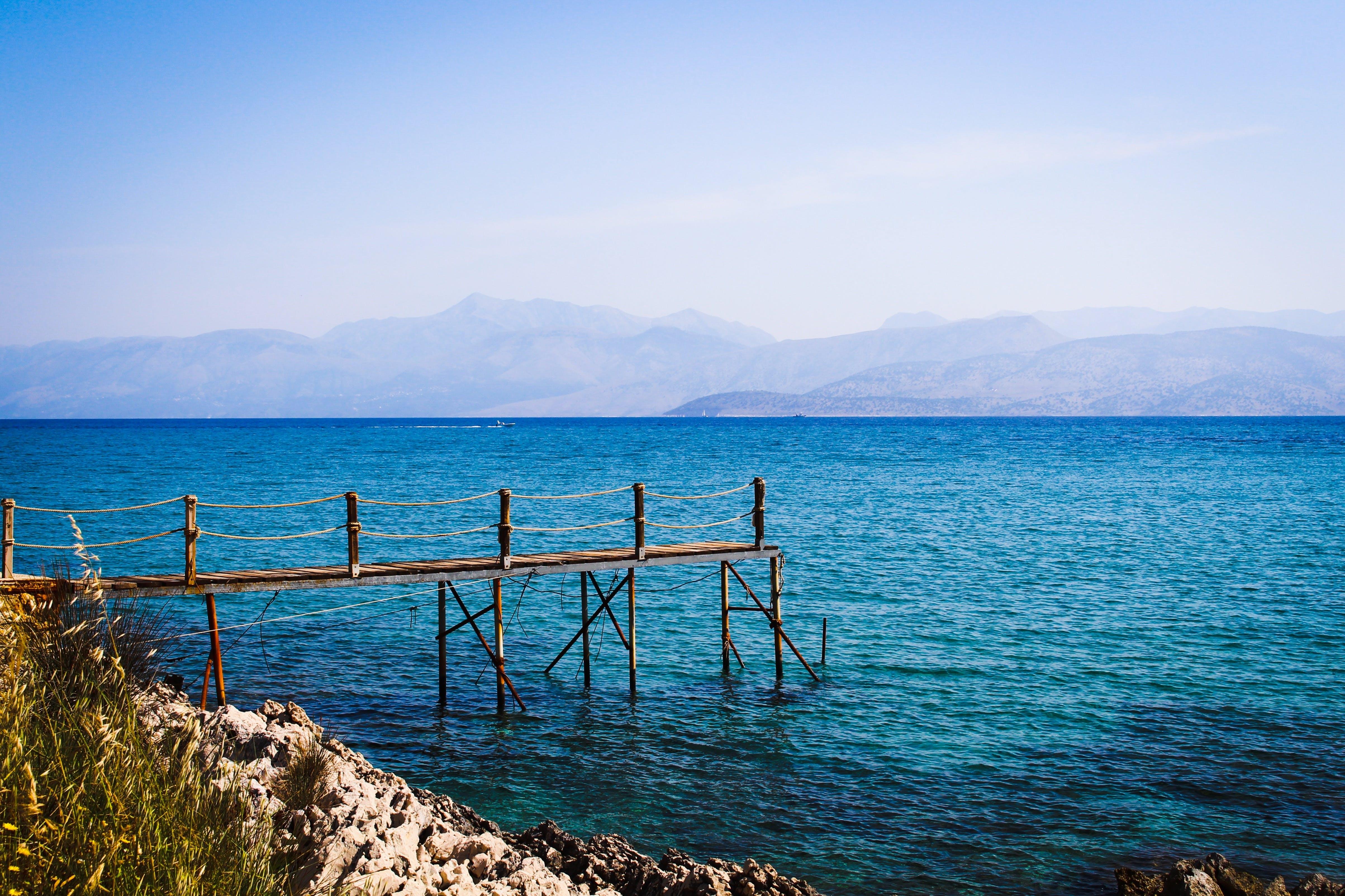 bay, beach, blue