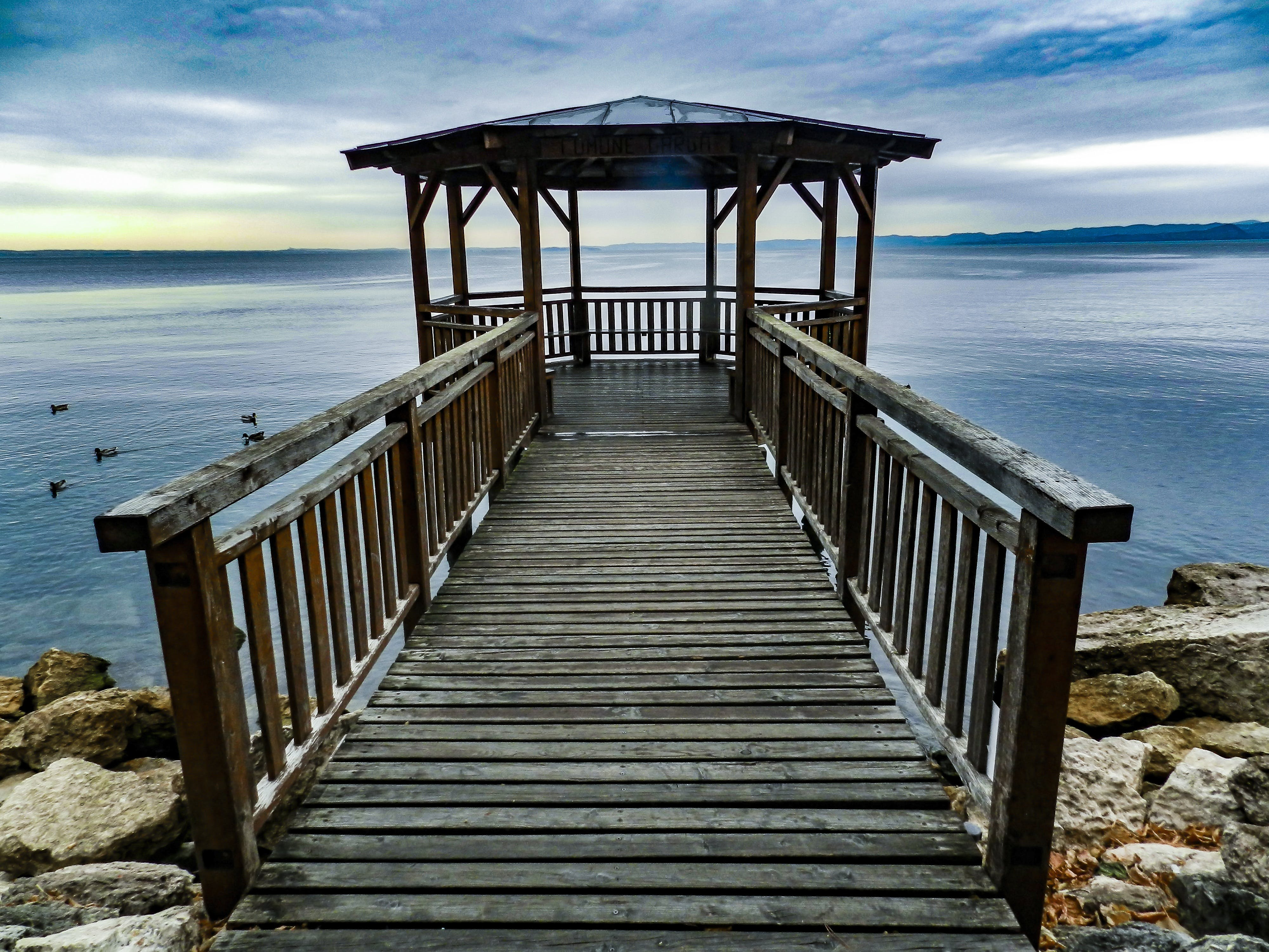 Free stock photo of wood, jetty, sea, beach