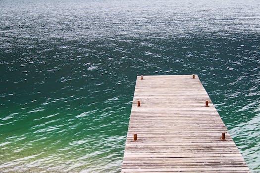 Free stock photo of jetty, water, lake, pier