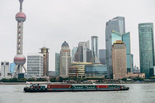 上海, 中國, 城市, 塔樓 的 免費圖庫相片