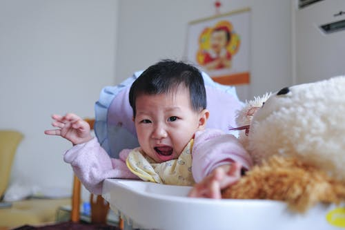 Free stock photo of baby, crying baby