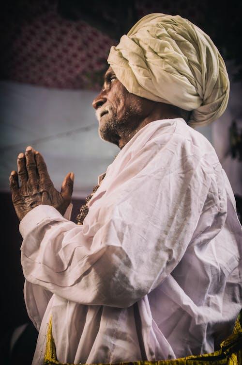 Photo Of A Man Praying