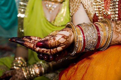 Foto d'estoc gratuïta de bonic, casament indi, casaments, dona índia