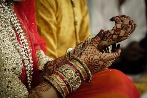 คลังภาพถ่ายฟรี ของ การแต่งงาน, กำหนดเอง, กำไล, ของเจ้าสาว