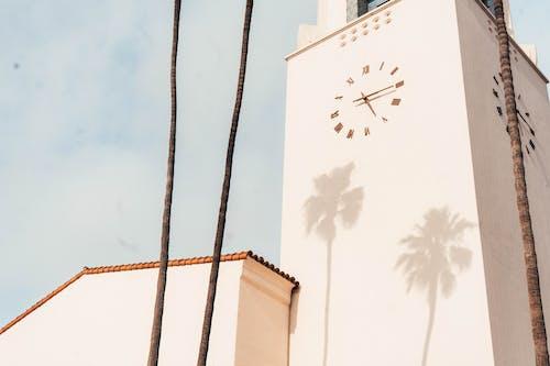 Ilmainen kuvapankkikuva tunnisteilla aika, arkkitehtuuri, kello, kuva alakulmasta