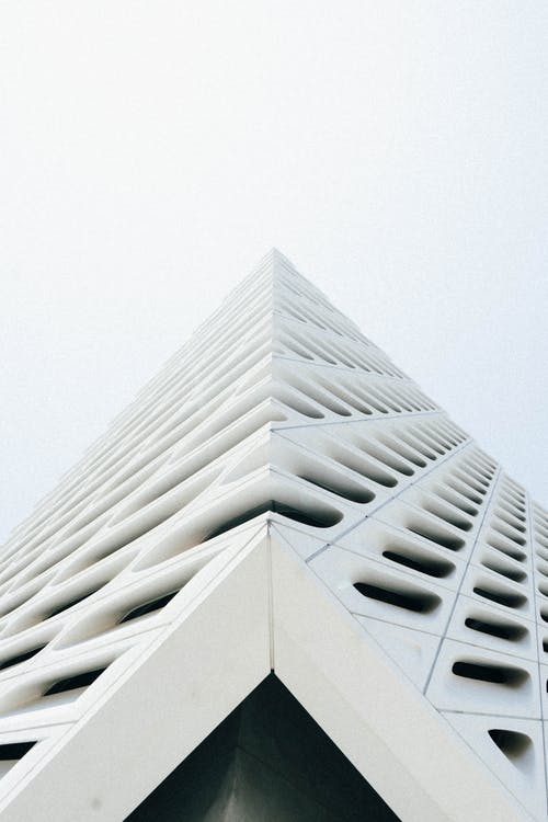 Low Angle Photo of White Building