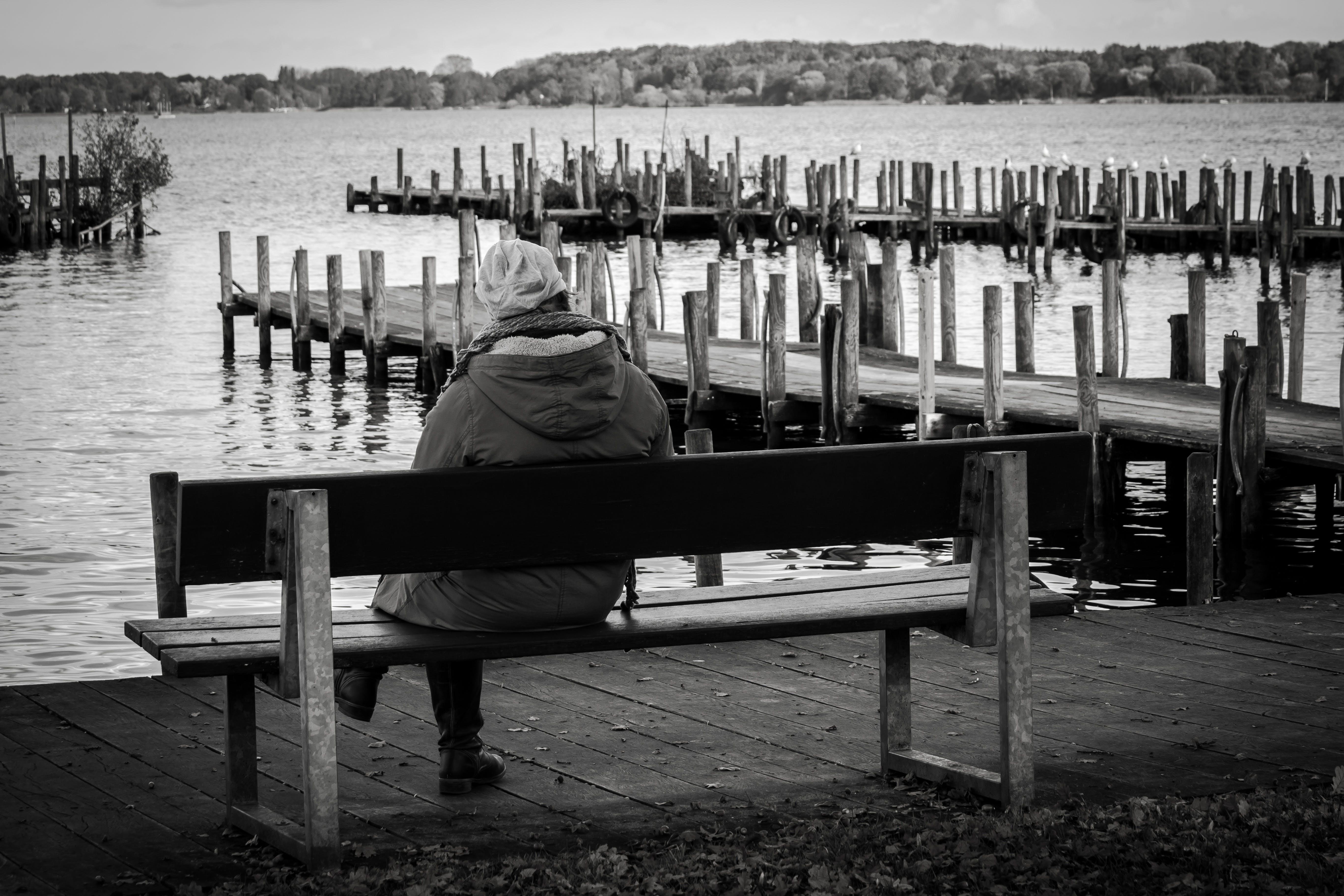 Free stock photo of bad zwischenahn, bank, break, dock