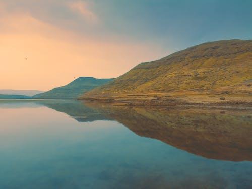 Бесплатное стоковое фото с багровые небеса, берег озера, вода, водоем