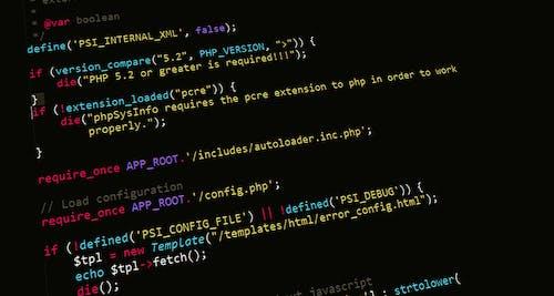 HTML, PHP, 개발, 개발자의 무료 스톡 사진