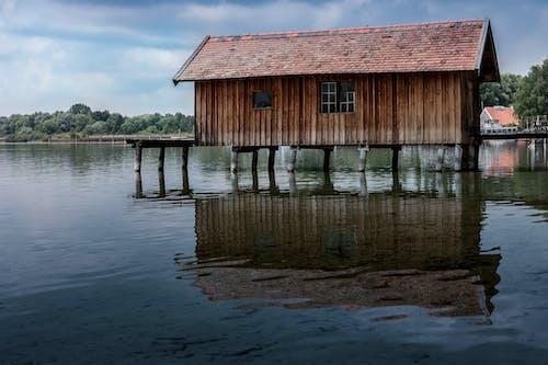 Fotobanka sbezplatnými fotkami na tému architektúra, chata, drevený, les
