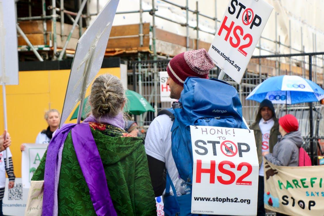 HS2, london, protest