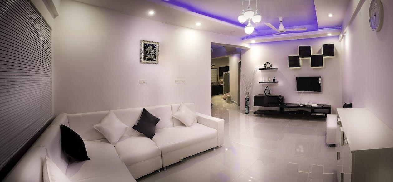 Lighted Living Room