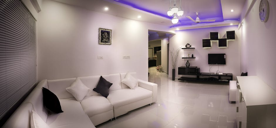 apartment, architecture, black-and-white