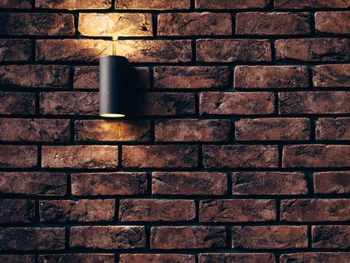 Tubular Black Sconce